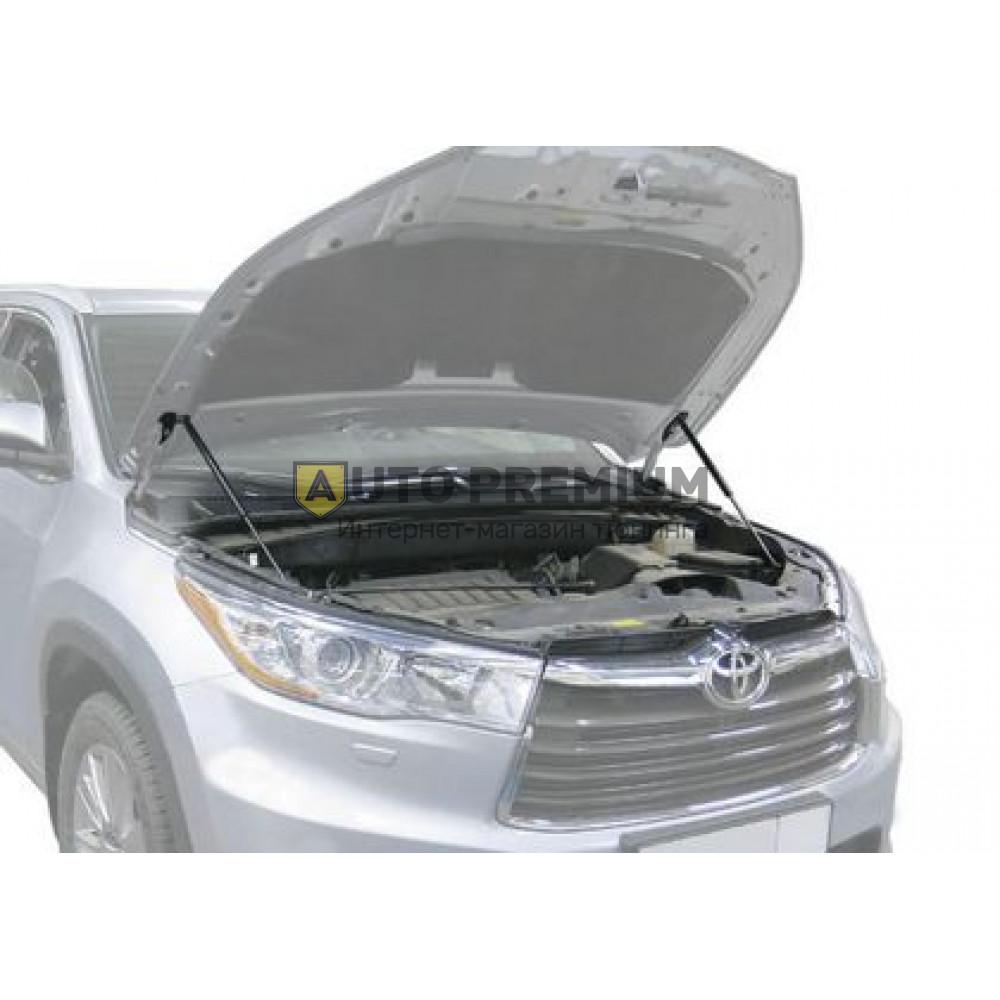 Амортизаторы (упоры) капота «Rival» для Toyota Highlander III 2013-2019