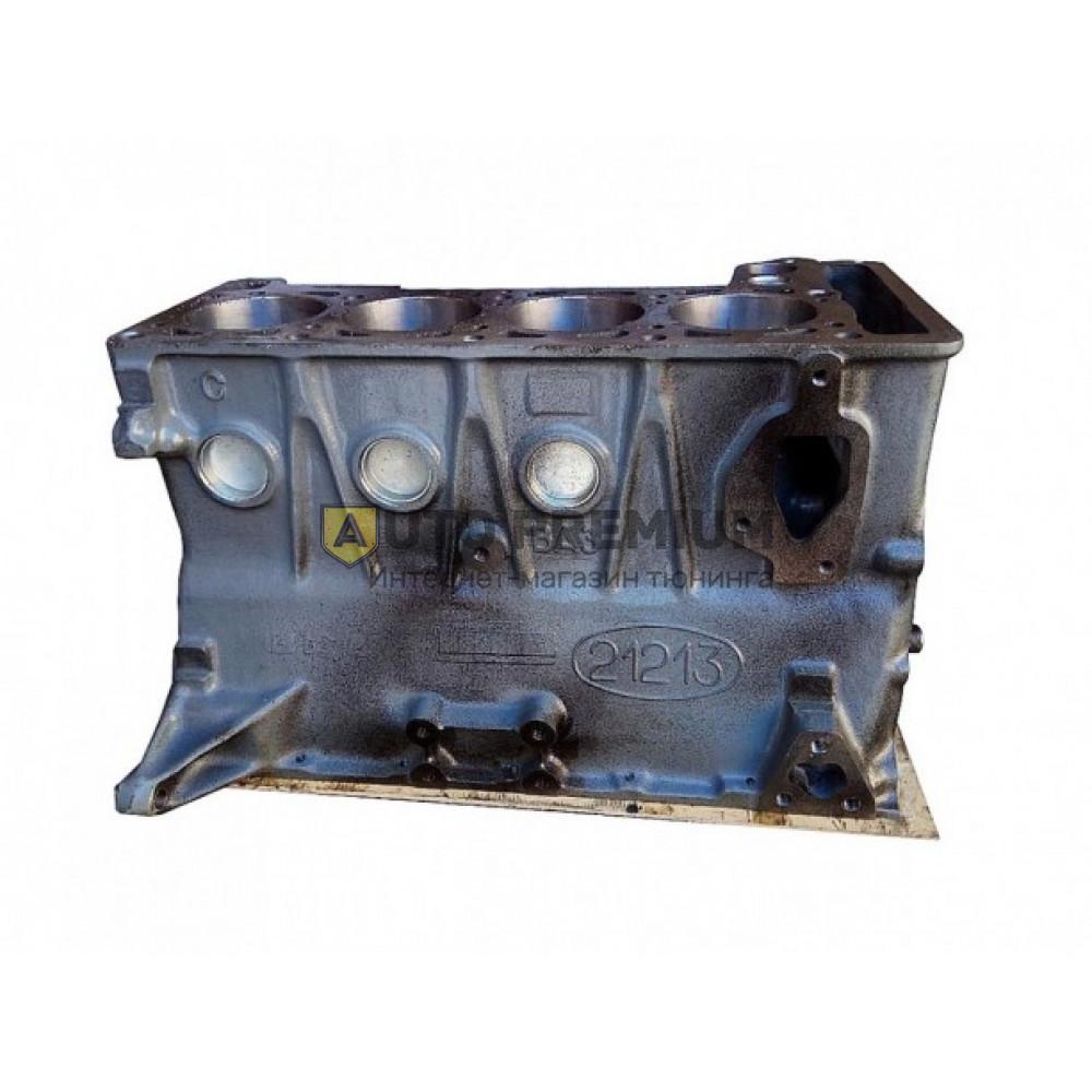 Блок цилиндров Шеви Нива (ВАЗ 2123) голый
