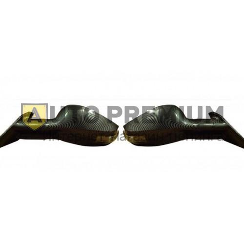 Боковые зеркала «3246» карбон c повторителями на ВАЗ 2108-15